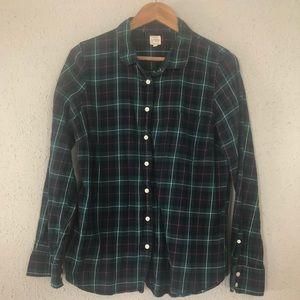 J. Crew Perfect Flannel Shirt